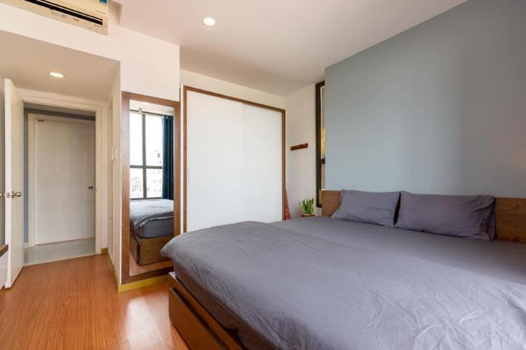 Phòng ngủ căn hộ ICON 56 Bán căn hộ 3 phòng ngủ Icon 56, tầng thấp, diện tích 88m2, đầy đủ nội thất