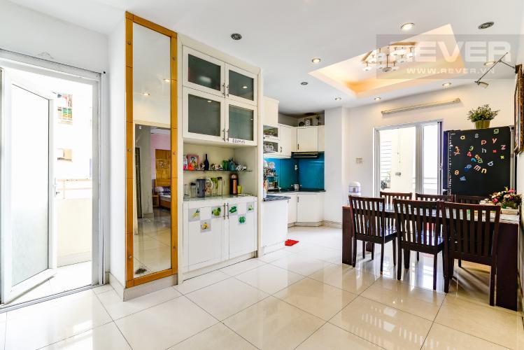 Phòng Ăn & Bếp Căn hộ Chung Cư Khánh Hội 1 tầng thấp 2 phòng ngủ nội thất đầy đủ