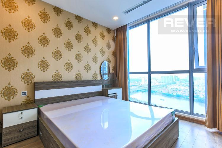 Phòng ngủ 1 Căn hộ Vinhomes Central Park 2 phòng ngủ, tầng cao P6, đầy đủ nội thất