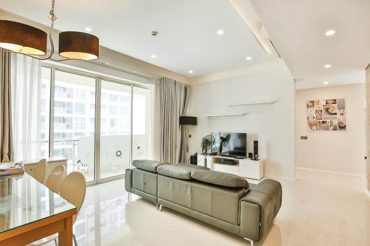 Phòng Khách Căn hộ The Estella Residence 2 phòng ngủ tầng thấp 4A nội thất đầy đủ