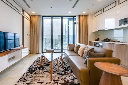 Cho thuê căn hộ Vinhomes Golden River 3PN 2WC, đầy đủ nội thất, view thành phố