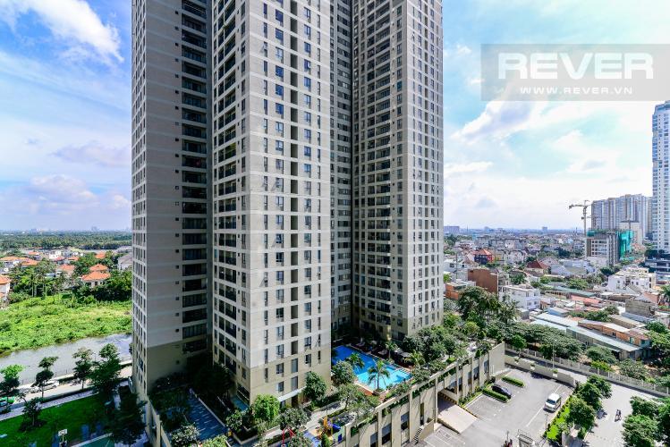 View Cho thuê căn hộ Masteri Thảo Điền 2PN, tháp T5, đầy đủ nội thất, view công viên nội khu