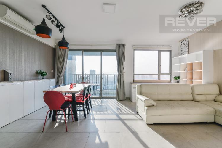 Phòng Khách Căn hộ Riviera Point 2 phòng ngủ tầng cao T4 đầy đủ nội thất