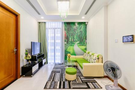 Căn hộ Vinhomes Central Park 1 phòng ngủ tầng cao L6 hướng Tây Nam