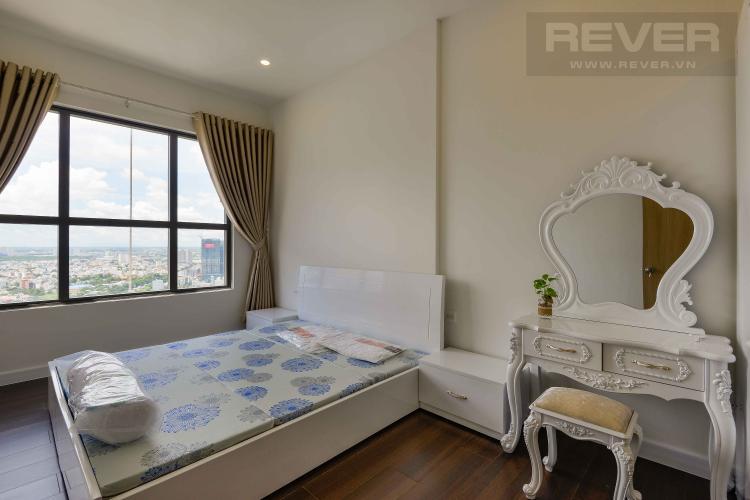 Phòng Ngủ 1 Bán căn hộ The Sun Avenue 2PN, tầng cao, đầy đủ nội thất, view sông và hướng Đông Nam đón gió