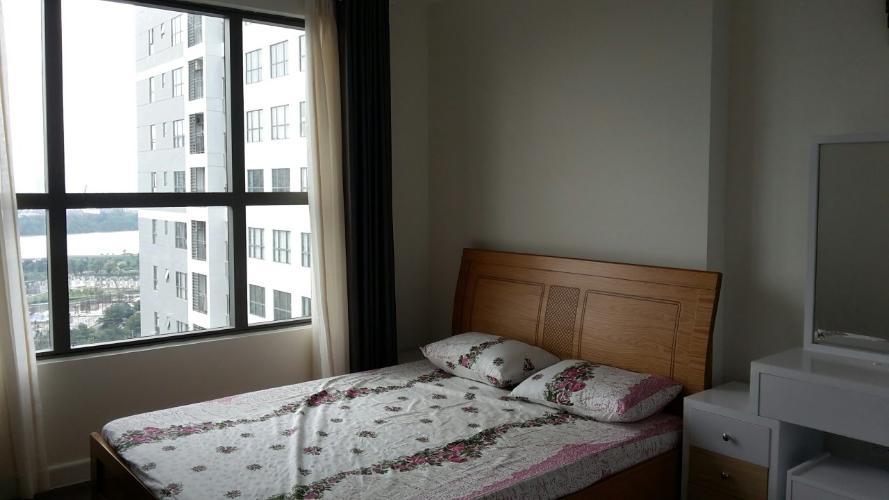 view phòng ngủ căn hộ The Sun Avenue Cho thuê căn hộ tầng trung view sông, nội thất cơ bản The Sun Avenue