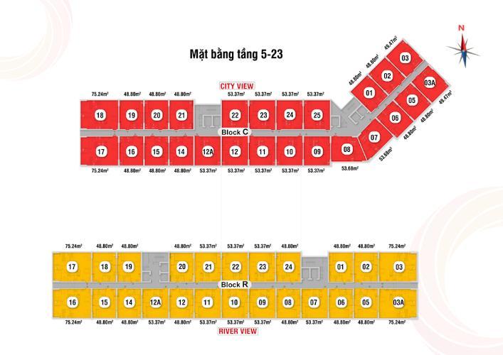 Mặt bằng chung Saigon Intela, Bình Chánh Căn hộ tầng trung Saigon Intela bàn giao nội thất cơ bản.