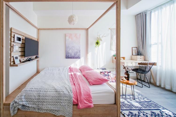 Cho thuê căn hộ RiverGate Residence 1PN, diện tích 26m2, đầy đủ nội thất, hướng ban công Tây Nam