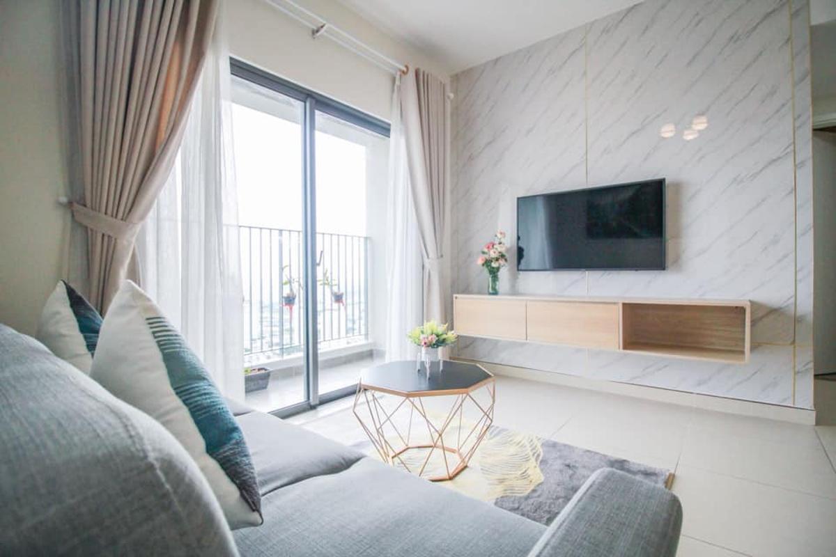 2 Bán căn hộ Masteri Thảo Điền 2PN, diện tích 68m2, đầy đủ nội thất, view sông thoáng mát