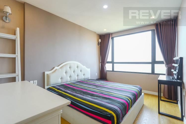 Phòng Ngủ 1 Căn hộ Masteri Thảo Điền tầng cao 3PN nội thất đầy đủ, view sông