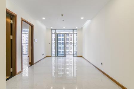 Officetel Vinhomes Central Park 1 phòng ngủ tầng cao P7 nhà trống