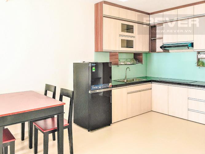 Phòng Bếp Cho thuê căn hộ M-One Nam Sài Gòn 2PN, tầng trung, đầy đủ nội thất, view hồ bơi nội khu