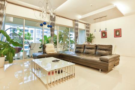 Căn hộ The Estella Residence 3 phòng ngủ, nội thất đầy đủ