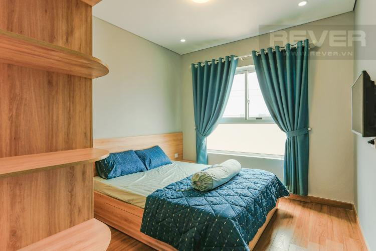 Phòng Ngủ 1 Căn hộ Dragon Hill 2 tầng thấp, 2 phòng ngủ, full nội thất