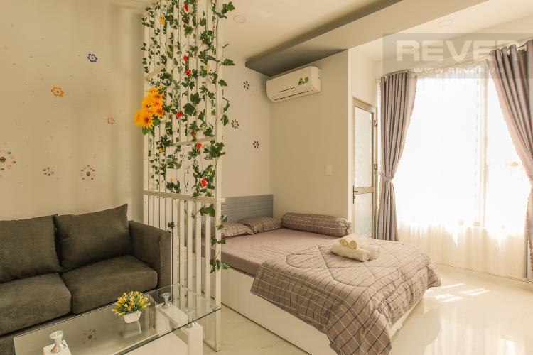 Phòng Khách Officetel RiverGate Residence 1 phòng ngủ tầng trung tháp B hướng Đông Bắc