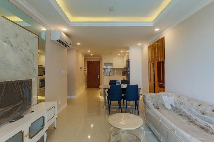 Căn hộ The Gold View 2 phòng ngủ tầng thấp A3 view nội khu