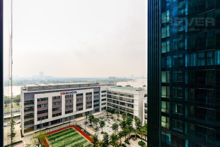 View Căn hộ Vinhomes Golden River tầng trung, tháp The Aqua 3, 2PN, nội thất đầy đủ