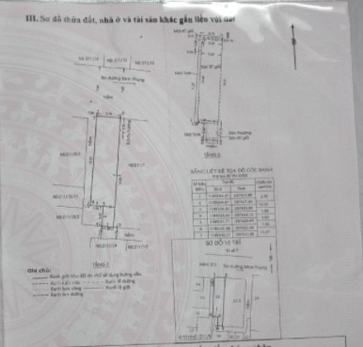 Nhà phố đường Minh Phụng, Quận 11 Nhà phố Quận 11 hướng Bắc diện tích 4mx17m, nội thất dầy đủ.
