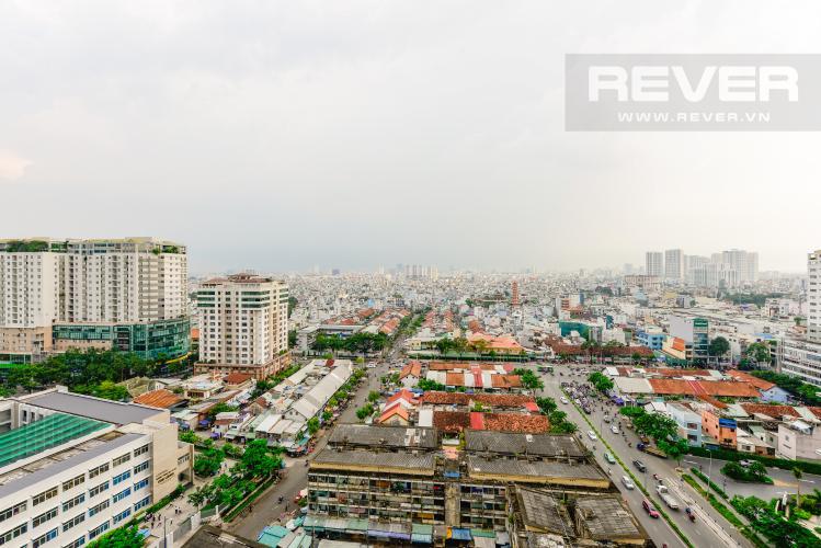 View Cho thuê căn hộ Masteri Millennium 3PN rộng rãi, đầy đủ nội thất