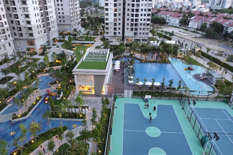 View căn hộ Saigon South Residence  Căn hộ Saigon South Residence tầng thấp, đầy đủ nội thất