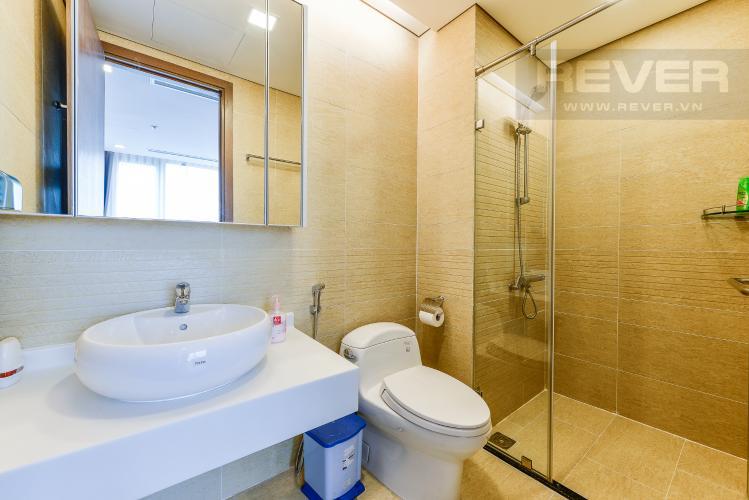 Phòng tắm 1 Căn hộ Vinhomes Central Park 2 phòng ngủ tầng trung P7 nội thất đầy đủ