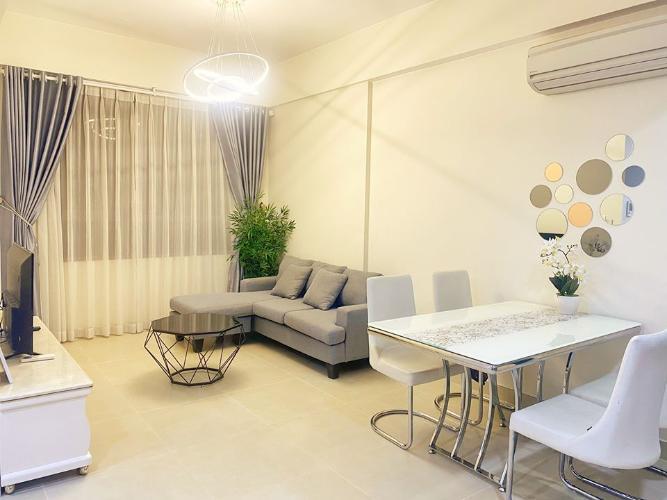 Phòng khách căn hộ MASTERI THẢO ĐIỀN Cho thuê căn hộ Masteri Thảo Điền 2PN, tháp T3, đầy đủ nội thất, view Xa lộ Hà Nội
