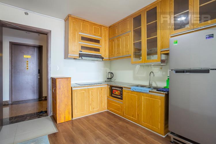 Khu Vực Bếp Căn hộ Lexington Residence 2 phòng ngủ tầng trung LD view thông thoáng