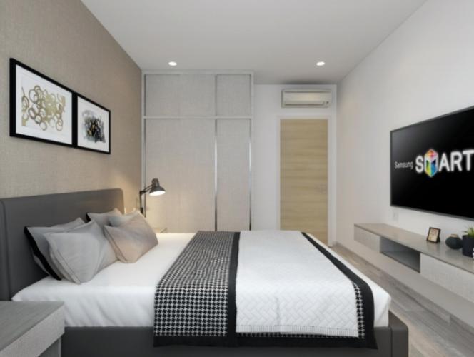 Phòng ngủ căn hộ Riviera Point Căn hộ Riviera Point bàn giao đầy đủ nội thất, 3 phòng ngủ.