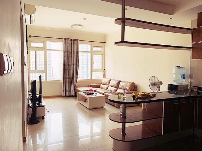 Bán căn hộ SaiGon Pearl, tầng cao, diện tích 86m2 - 2 phòng ngủ, nội thất cơ bản.