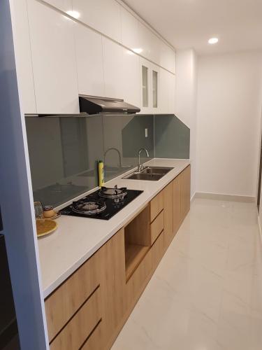 Bếp căn hộ Hưng Phúc Căn hộ Happy Residence nội thất đầy đủ, ban công rộng rãi.