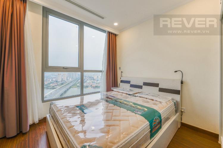 Phòng Ngủ 2 Cho thuê căn hộ Vinhomes Central Park tầng cao 2PN view sông