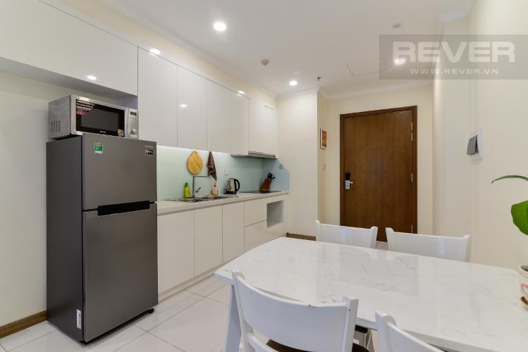 Phòng Ăn & Bếp Bán căn hộ Vinhomes Central Park 1PN, tầng trung, diện tích 50m2, đầy đủ nội thất