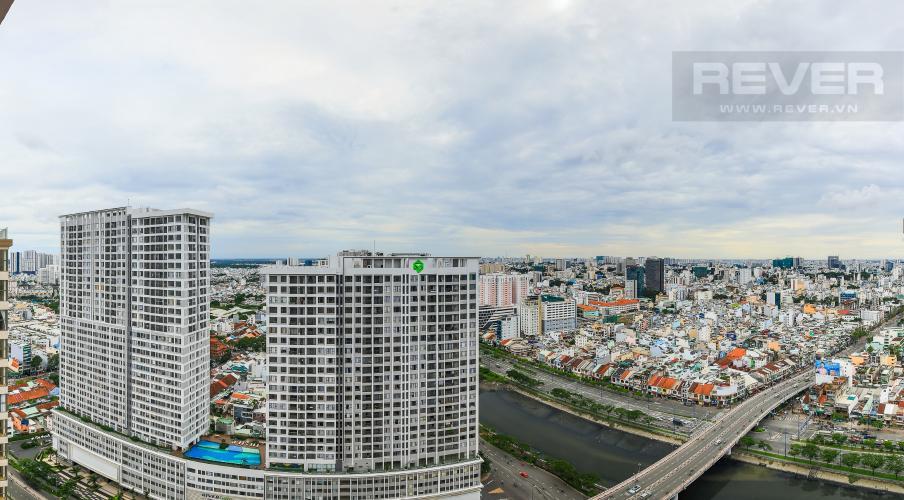 View Bán căn hộ Masteri Millennium tầng cao, 2PN, view sông