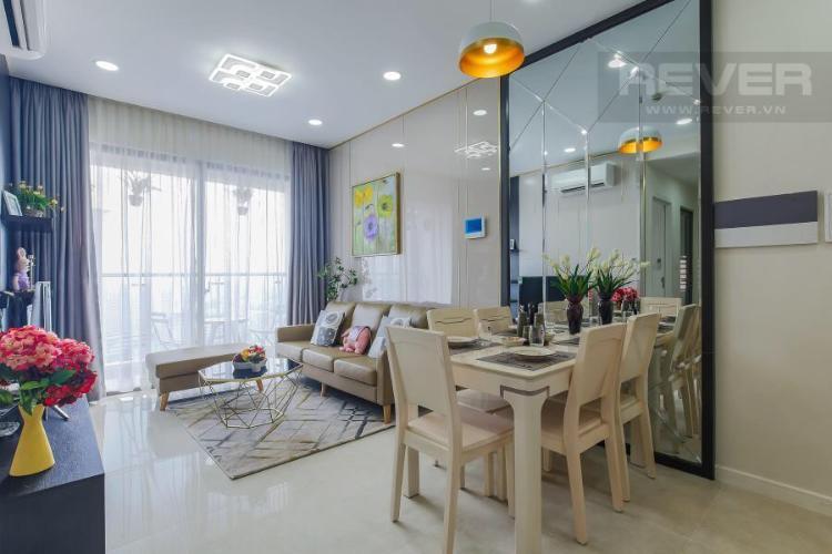 Cho thuê căn hộ Masteri Millennium 2PN, block A, đầy đủ nội thất, view thành phố