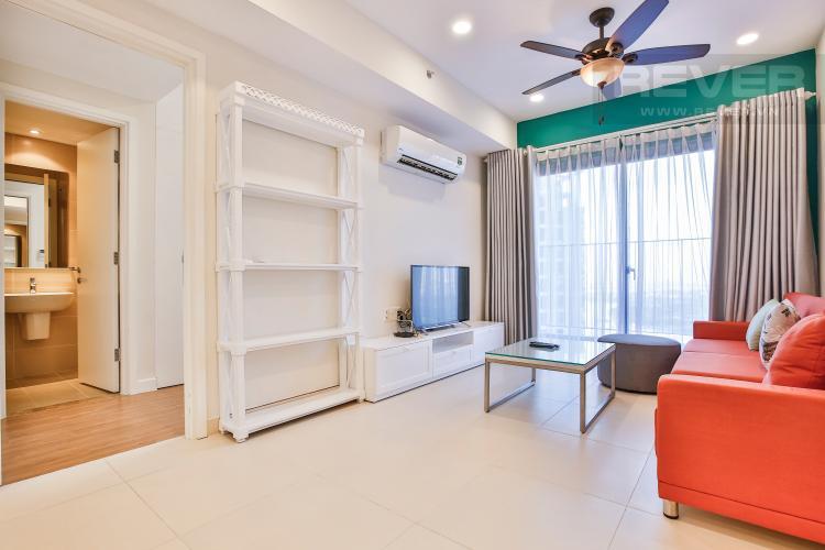Phòng Khách Căn hộ Masteri Thảo Điền 2 phòng ngủ tầng cao T5 view sông