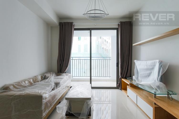Phòng Khách Căn hộ The Tresor 2 phòng  ngủ tầng thấp TS1 hướng Đông Bắc