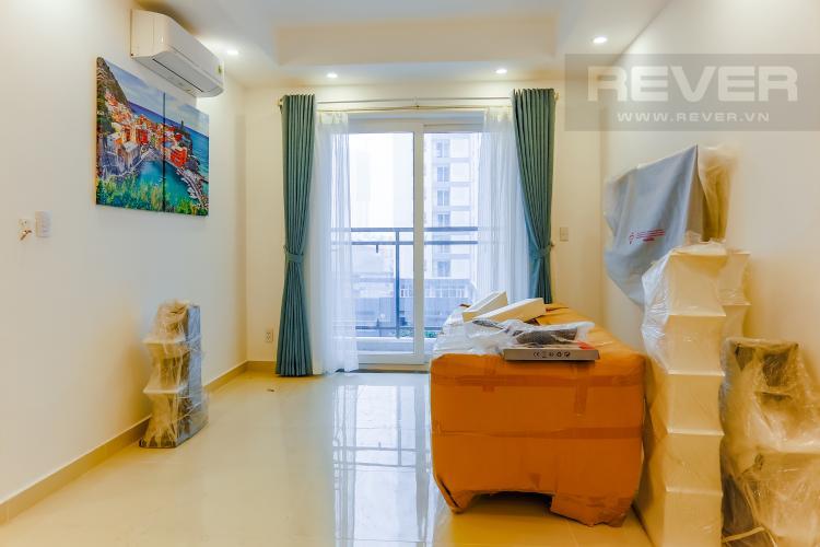 Phòng Khách Căn hộ Florita 2 phòng ngủ tầng thấp tháp A view nội khu