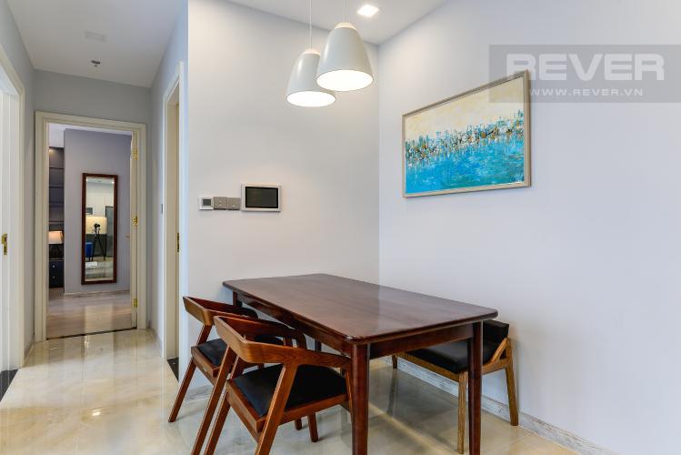 Phòng Ăn Căn hộ Vinhomes Golden River tầng cao 2PN đầy đủ nội thất, có thể dọn vào ở ngay