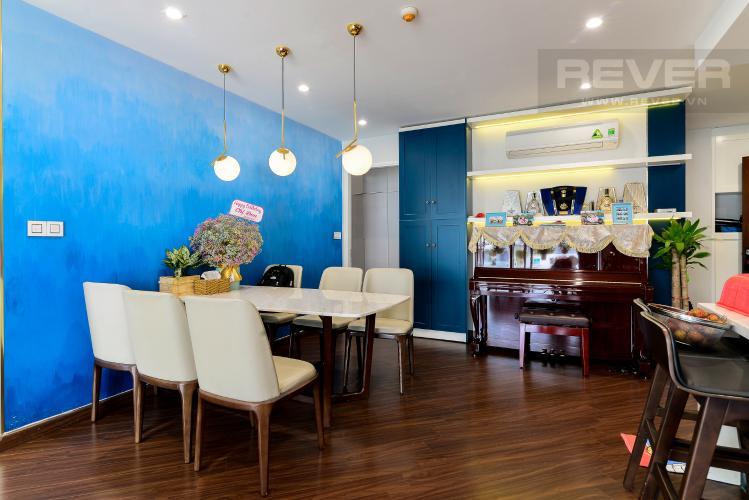 Phòng Ăn Bán căn hộ The Gold View 3PN, tầng thấp, diện tích 117m2, đầy đủ nội thất