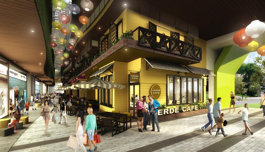Vista Verde - Phối cảnh khu thương mại tại Vista Verde