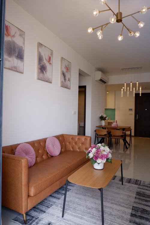 Căn hộ One Verandah đầy đủ nội thất, view thành phố và sông thoáng mát
