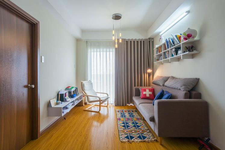 Phòng Khách Bán căn hộ Flora Anh Đào Quận 9, 2PN, đầy đủ nội thất