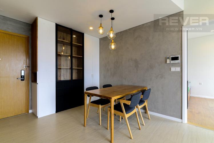 Phòng Ăn Cho thuê căn hộ Diamond Island - Đảo Kim Cương 2PN, tháp Canary, đầy đủ nội thất, view sông mát mẻ