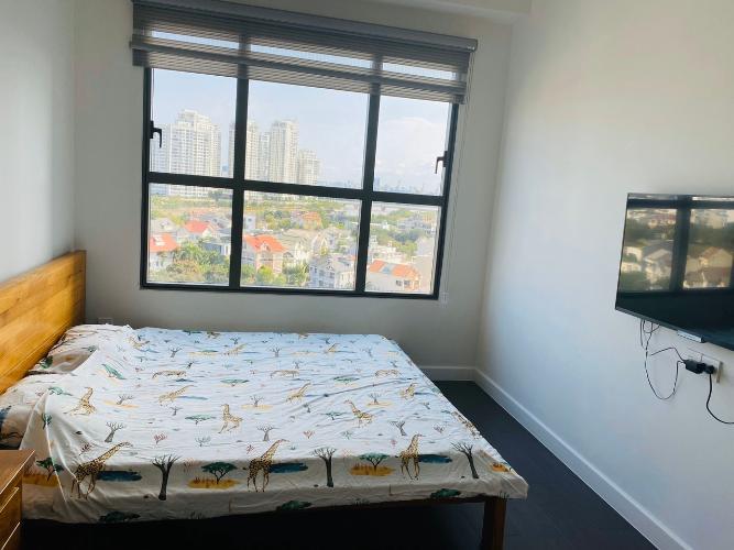 Phòng ngủ căn hộ The Sun Avenue Bán căn hộ The Sun Avenue nội thất cao cấp, view thành phố.