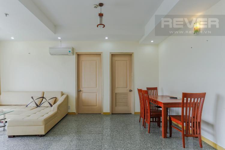 Phòng Khách Và Phòng Ăn Căn hộ Dragon Hill Residence and Suites tầng cao, tháp B, 2 phòng ngủ, full nội thất