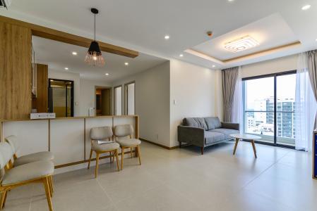 Cho thuê căn hộ New City Thủ Thiêm tầng cao, 3PN đầy đủ nội thất, view sông