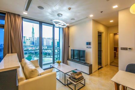 Cho thuê căn hộ Vinhomes Golden River 2PN, đầy đủ nội thất, view sông Sài Gòn và Landmark 81