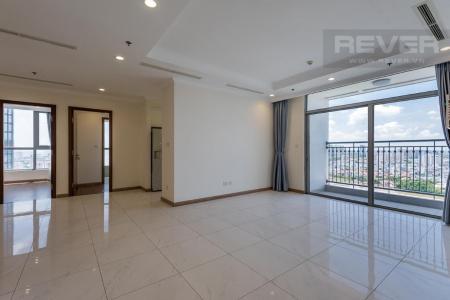 Cho thuê căn hộ Vinhomes Central Park 4PN, tầng 25, ban công hướng Đông, view sông và công viên
