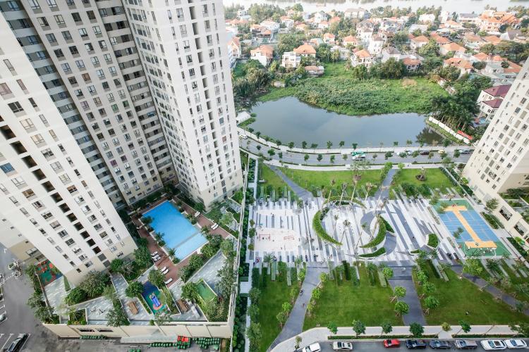 View Căn góc Masteri Thảo Điền tầng cao T5 view trực diện sông