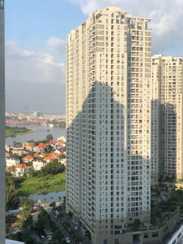 View căn hộ Masteri Thảo Điền Căn hộ 2 phòng ngủ Masteri Thảo Điền, tầng cao, nội thất tiện nghi
